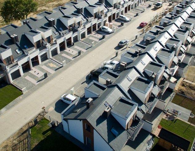 budowa domów w zabudowie jednorodzinnej, dwurodzinnej i szeregowej w najnowszych technologiach energooszczędnych