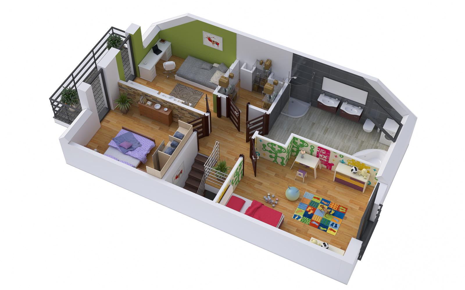 mieszkania w zabudowie szeregowej lubin