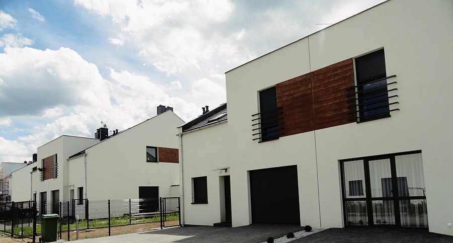 nowy tani dom w Lubinie